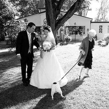 Momentaufnahme Hochzeitsfotografie