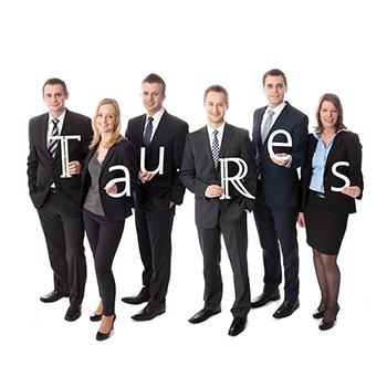 Businessgruppenfoto für Eigenwerbung