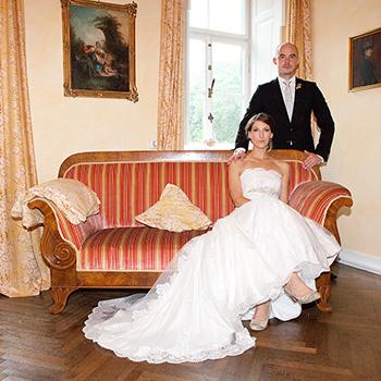 hochherrschaftliche Hochzeit im Schloss