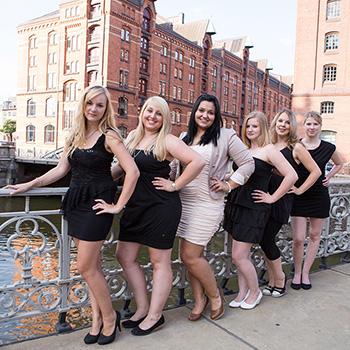 Junggesellinnenabschied Fotos, Fotoshooting Freundinnen, Speicherstadt Hamburg, JGA Fotos, Fotograf Hamburg, Junggesellinnen-Abschied Fotos
