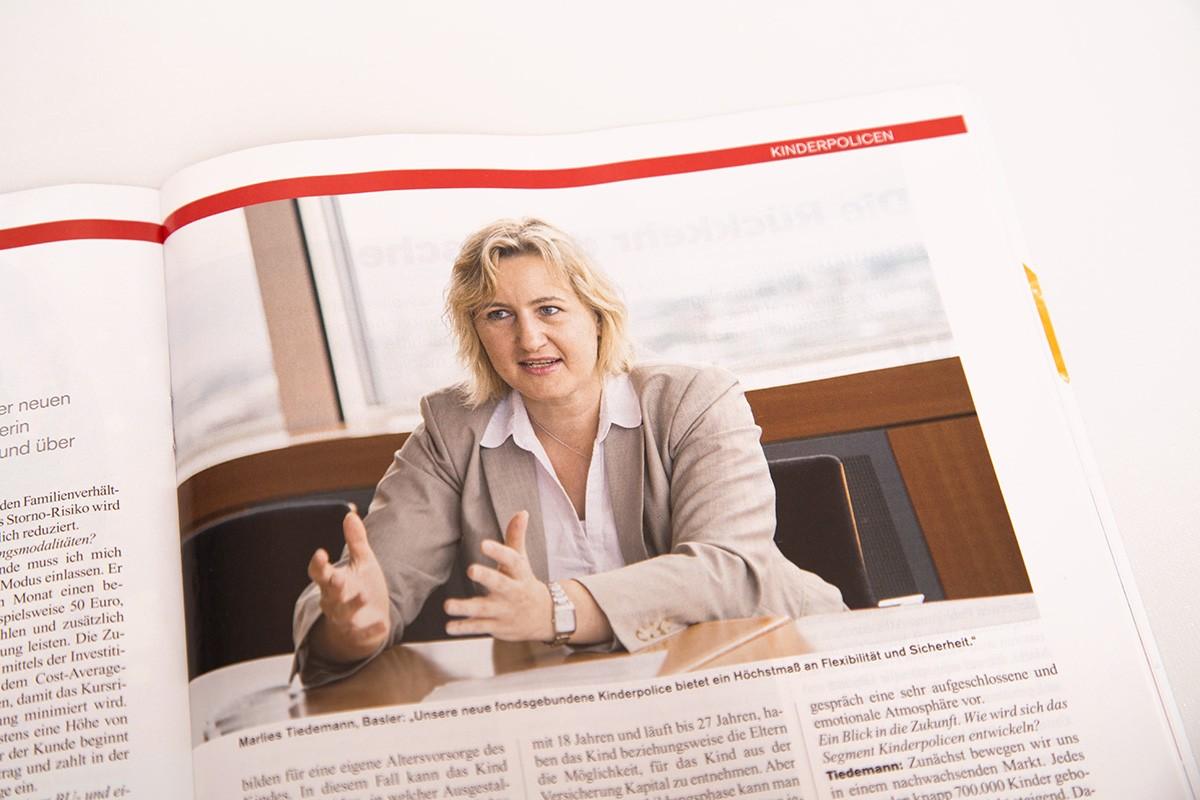 Businessportrait für das Cash-Magazin