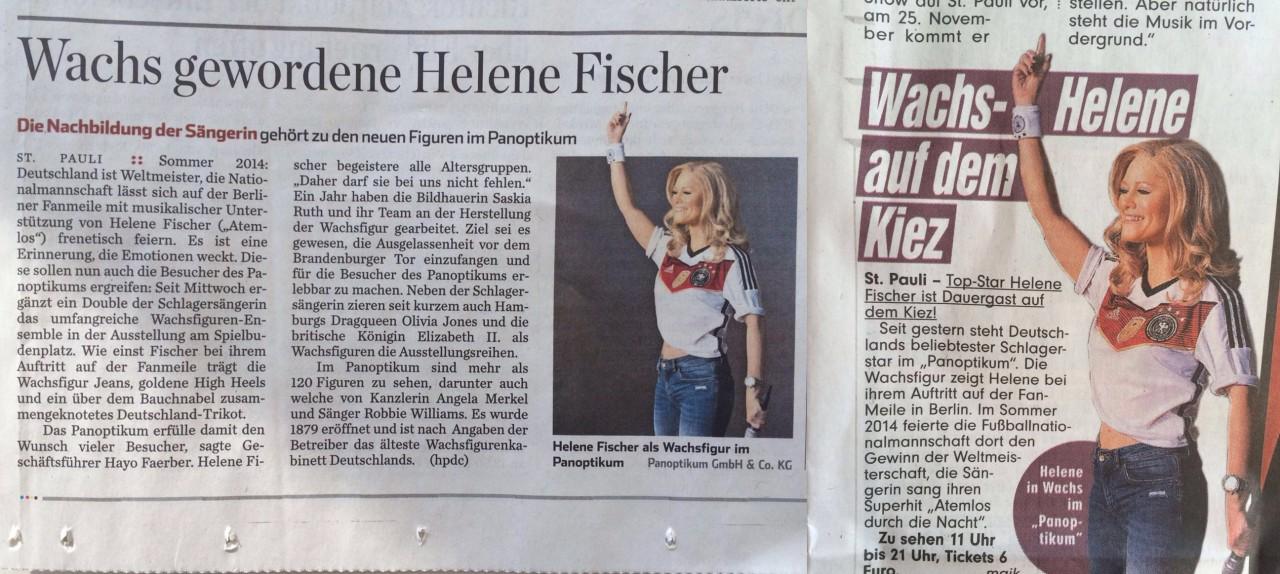 Helene Fischer Panoptikum Hamburg Angela Pfeiffer