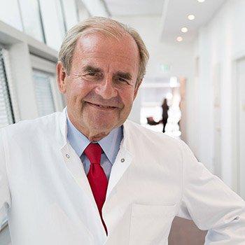 Chefarztportrait auf Location