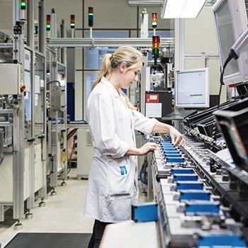 industrielles Imagefoto für Unternehmenskommunikation