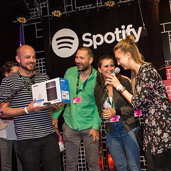 AfterWork Event von Spotify